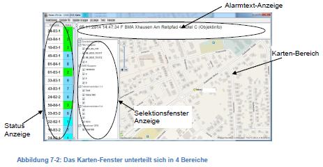 Tetra GPS Visualisierung mit Sandan