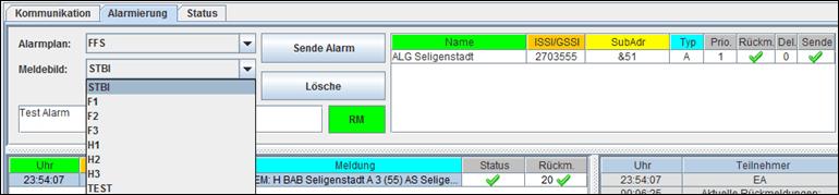 Alarmierungsplan mit Excel