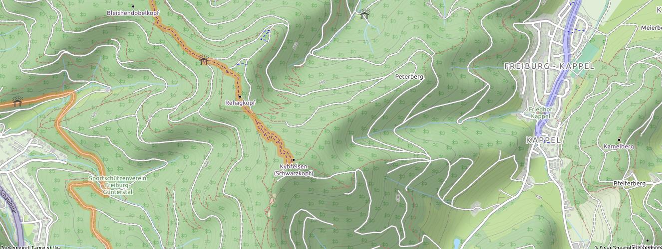 AML Advance Mobile Location mit Sandan - Thunder Forest Cycle Karte